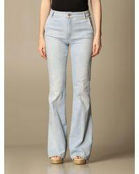 Manila Grace Jeans - Bleu