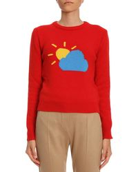 Alberta Ferretti - Weather Intarsia Jumper - Lyst