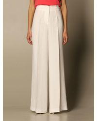 Twin Set Trousers - White