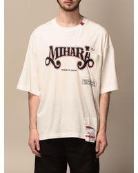 Maison Mihara Yasuhiro T-shirt - White