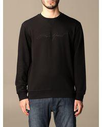 Emporio Armani Sweatshirt - Black