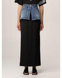MM6 by Maison Martin Margiela Skirt - Black