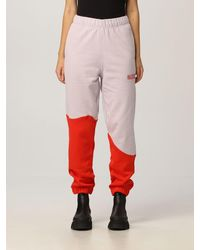 Ganni Trousers - Red