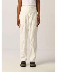 Aspesi Pantalon - Blanc