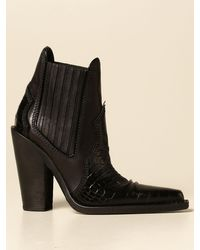 DSquared² Heeled Booties - Black
