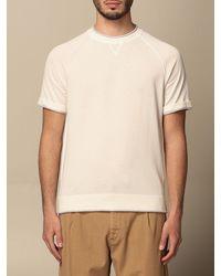 Eleventy T-shirt - Natural