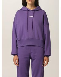 MSGM Sweat-Shirt - Violet