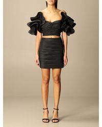 Elisabetta Franchi Suit Separate - Black