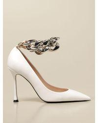 N°21 - Heeled Sandals - Lyst