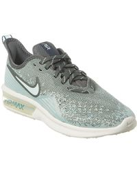online retailer bab58 0aedd Air Max Sequent 4 Mesh Trainer - Blue