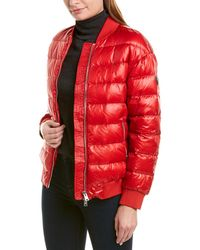 Woolrich Padded Puffer Jacket - Red