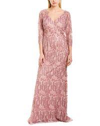 Carmen Marc Valvo Gown - Pink