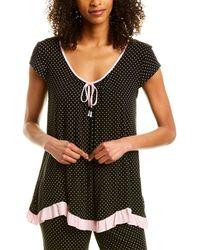 Ellen Tracy Pyjama Top - Black