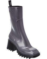 Chloé Betty Rubber Rain Boot - Multicolour