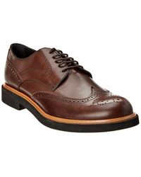Tod's Leather Derby - Brown