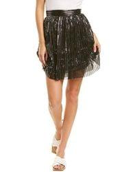 Sabina Musayev Lady Mini Skirt - Black