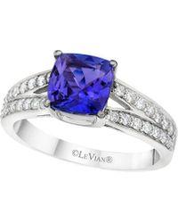 Le Vian 14k 0.30 Ct. Tw. Diamond & Tanzanite Ring - Blue