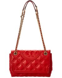 Tory Burch Fleming Leather Shoulder Bag - Multicolour
