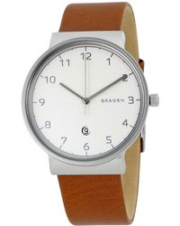 Skagen Denmark Men's Ancher Watch - Metallic