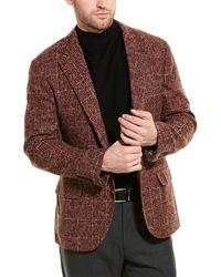 Brunello Cucinelli Alpaca-blend Blazer - Brown
