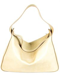 The Row New Hobo Leather Shoulder Bag - Multicolour