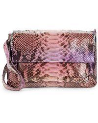 Nancy Gonzalez - Python Shoulder Bag - Lyst