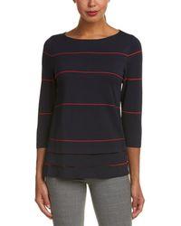 Lafayette 148 New York Striped Sweater - Multicolour