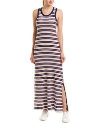 James Perse - Split Tank Maxi Dress - Lyst