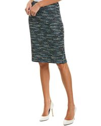 St. John Wool-blend Pencil Skirt - Multicolour