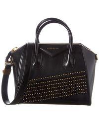 Givenchy Antigona Small Leather Tote - Black