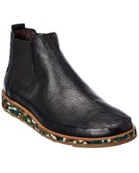 Fly London Japa Leather Boot - Black