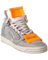Off-White c/o Virgil Abloh Off-white? Glitter Sneaker - Metallic