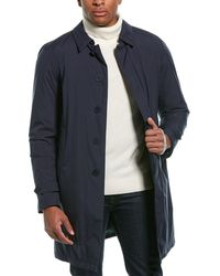Herno Laminar Down Raincoat - Blue