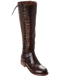 Bed Stu Burnley Leather Boot - Brown