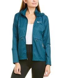 Nike Essential Hooded Jacket - Blue