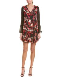 BCBGeneration - Floral Shift Dress - Lyst