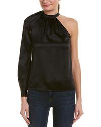 A.L.C. One-shoulder Top - Black
