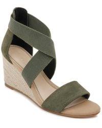 Splendid Muriel Espadrille Wedge Sandal - Green