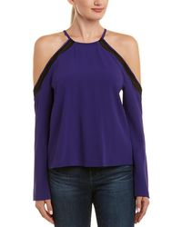 Ramy Brook - Anya Cold-shoulder Blouse - Lyst