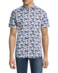 Slate & Stone - Hawaiian Print Sportshirt - Lyst
