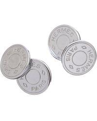 Hermès Palladium Cufflinks - Metallic