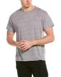 IRO Accurate Linen T-shirt - Grey