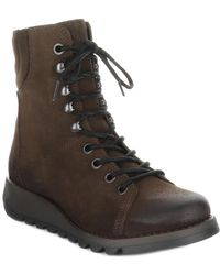 Fly London Same Suede Boot - Brown