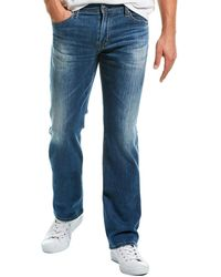 AG Jeans The Protege Four Rivers Straight Leg - Blue