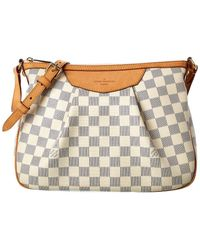 Louis Vuitton Damier Azur Canvas Siracusa Pm - Multicolour