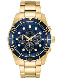 Bulova Men's Stainless Steel Watch - Multicolour