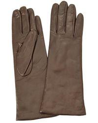 Portolano Leather Gloves - Brown