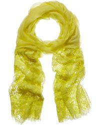 Valentino - Wool & Silk-blend Scarf - Lyst