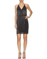 John Lewis - Adrianna Papell Petite Short Beaded Dress - Lyst