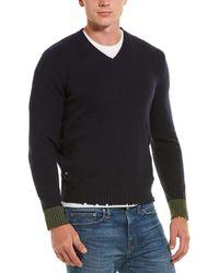 Zadig & Voltaire Luke Wool Sweater - Blue